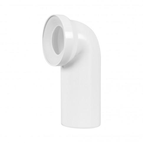 Racord WC rigid, Eurociere, cot la 90 grade, D - 110, 229 mm lungime