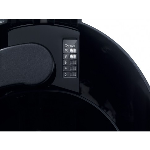 Cafetiera Philips HD7459/20, 1000 W, 1.2 l, capacitate 15 cesti, functie oprire automata, functie antipicurare, negru