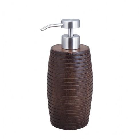 Dozator sapun lichid Kadda Etnik BWO-0125A, finisaj lemn