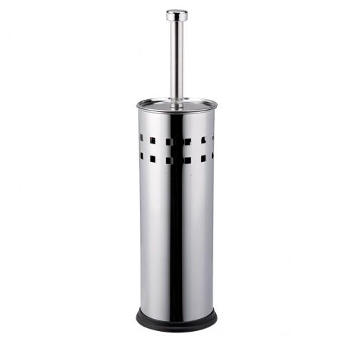 Perie WC Kadda BSM-0024, inox, 9.5 x 38.5 cm