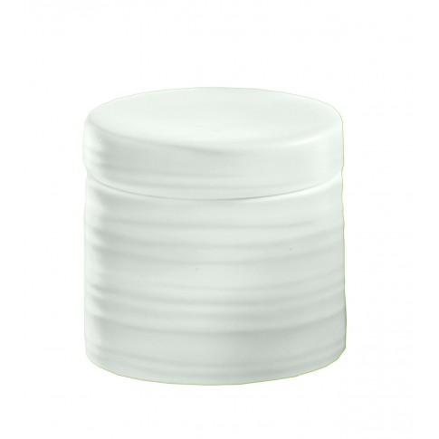 Suport dischete demachiante, Kleine Wolke Sahara 34133, ceramica, alb, 12.5 x 36.5 x 12 cm