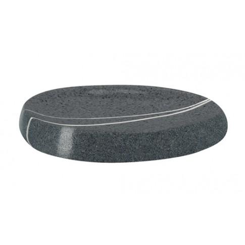 Sapuniera Kleine Wolke Stones 34163, gri