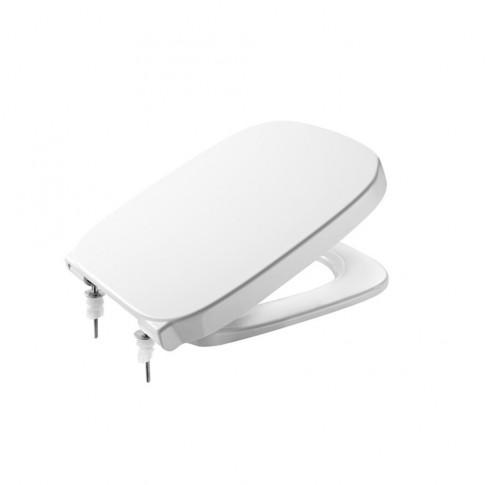 Capac WC din duroplast, Debba 8019D0004, alb, inchidere standard, 355 x 425 mm