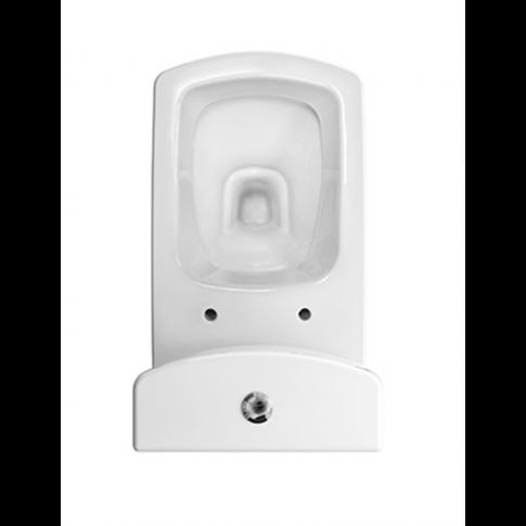 Set vas WC + rezervor + mecanism Cersanit Easy K102-009, din portelan, 36.5 x 63 x 78 cm