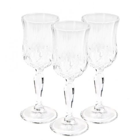 Pahar cu picior vin, Opera, din cristal, 160 ml, set 6 bucati