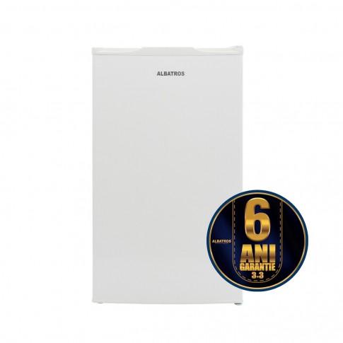 Frigider Albatros FA 11+, mic, cu 1 usa si 2 rafturi, 82 l, clasa A+, alb, inaltime 84 cm, termostat reglabil