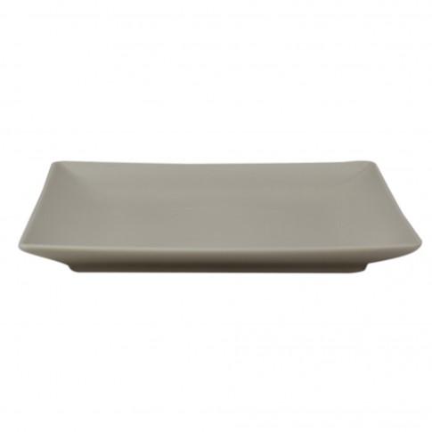 Farfurie intinsa Soler, ceramica, bej, 26 cm