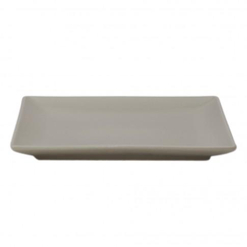 Farfurie desert Soler, ceramica, bej, 18 cm