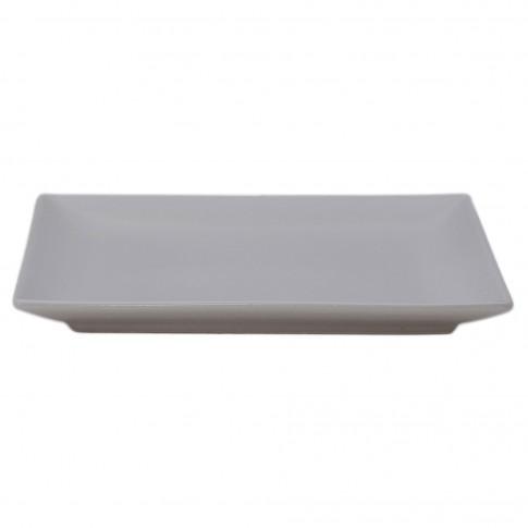 Farfurie desert Soler, ceramica, alba, 18 cm