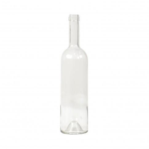 Sticla pentru vin, transparenta, 750 ml