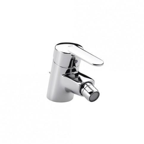 Baterie baie pentru bideu Roca Victoria 5A6025C00, monocomanda, finisaj cromat, ventil inclus