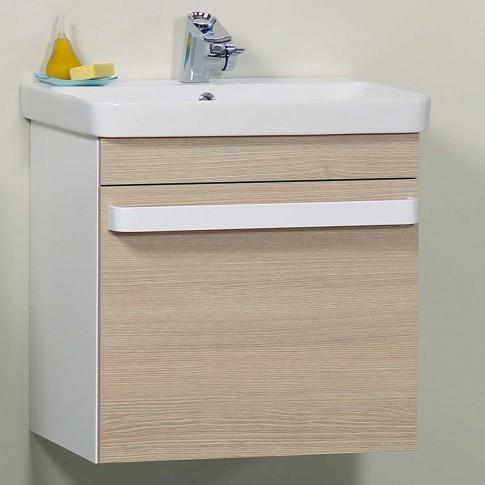 Masca baie Arthema Revo alb / stejar + lavoar Revo 0360R