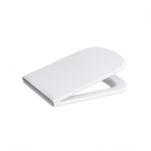 Capac WC din duroplast, Cersanit Colour K98-0092, inchidere lenta, 359 x 445 mm