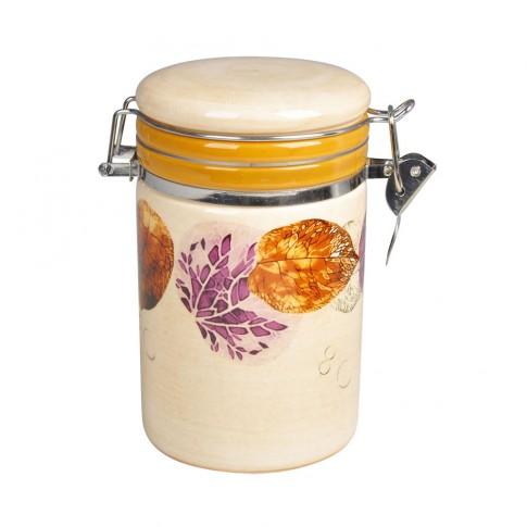 Recipient pentru bucatarie HC8600E-H26, 700 ml, bej, ceramica, 9.5 x 15.3 cm