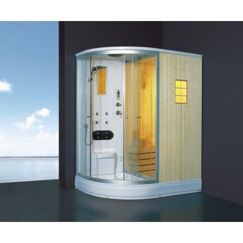 Cabina dus cu sauna ANS-529, pe dreapta, 110 x 170 x 219 cm