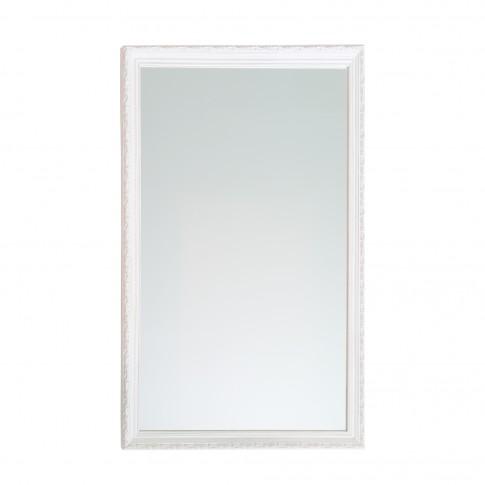 Oglinda decorativa Class Mirrors, cu rama lemn, 87 x 57 cm