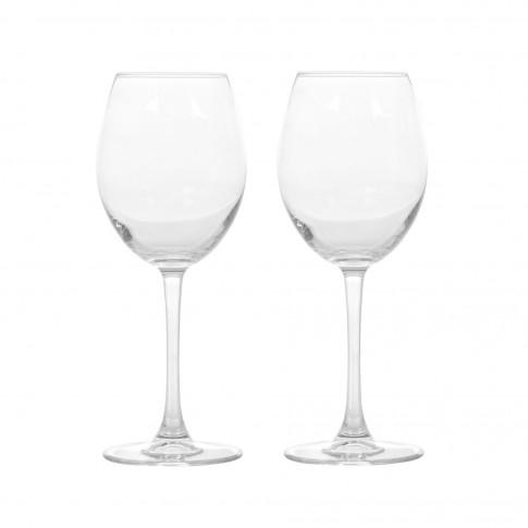 Pahar vin, Enoteca, din sticla, 440 ml, set 2 pahare