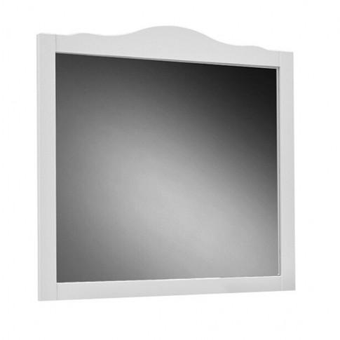 Oglinda baie Martplast Bari 105, cu rama, alb, 108 x 102 cm