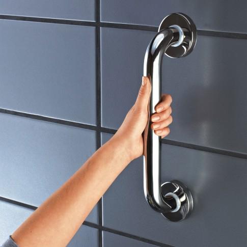 Maner de sustinere, pentru baie, Davo Pro Ridder A00130001, cromat, 4 x 12 x 30 cm