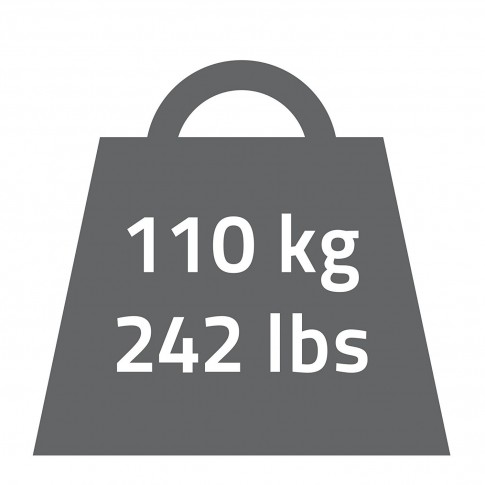 Maner de sustinere, pentru baie, Davo Pro Ridder A00130101, alb, 30 cm