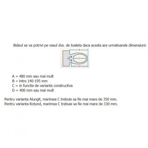 Bideu electric, LS Daewon DIB-J850R, alb