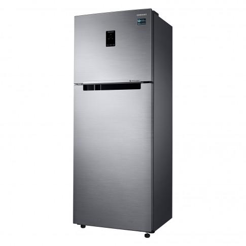 Frigider Samsung RT38K5530S9/EO, cu 2 usi si 4 rafturi, 384 l, clasa A+, argintiu, inaltime 178.5 cm, Twin Cooling Plus, Smart Conversion