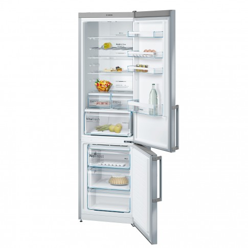 Combina frigorifica Bosch KGN39XL35, 366 l, No Frost, clasa A++, inaltime 203 cm, inox