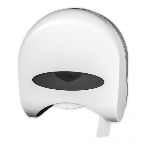 Dispenser hartie igienica Ferro 69094.1, finisaj alb, 27.8 x 12 x 30.1 cm