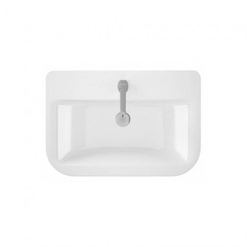 Lavoar Sanindusa Look 134340004, alb, dreptunghiular, 60 cm