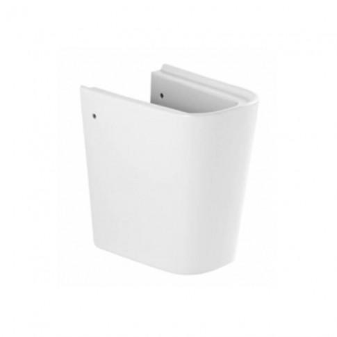 Semipiedestal lavoar Sanindusa Look 134220004, alb, 21 x 31 cm