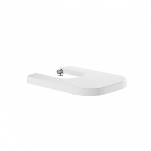 Capac bideu Sanindusa Look 2344100, alb, dreptunghiular, 34.9 x 46.6 cm