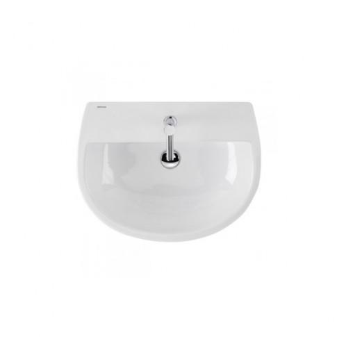 Lavoar Sanindusa Easy 131320004, alb, rotunjit, 61 cm