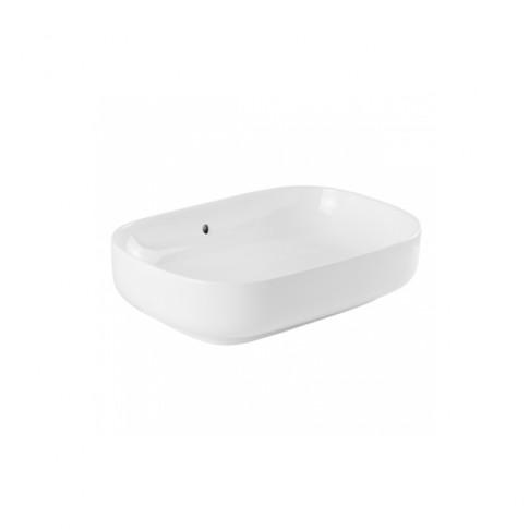 Lavoar Sanindusa Sanibold 137310004, alb, dreptunghiular, 60 cm