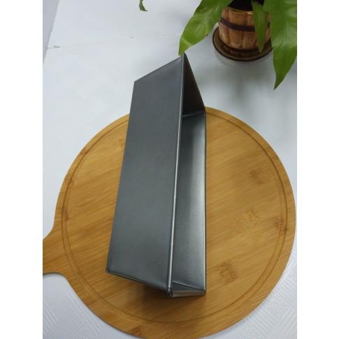 Tava dreptunghiulara pentru copt, otel, antiaderenta, gri, 26 x 11.5 x 7.5 cm