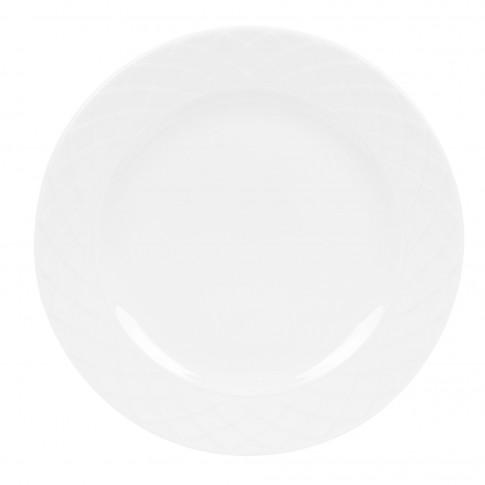 Farfurie intinsa Itea 8620005, portelan, alba, 25 cm