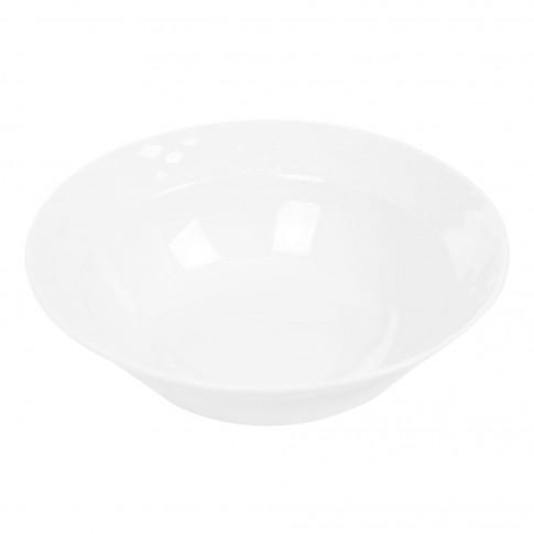 Bol pentru salata Itea 8620007, portelan, alb, 24 cm