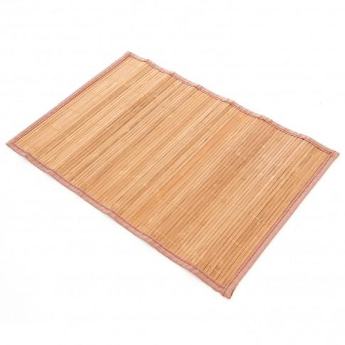 Suport bambus, BM04 Pow, crem, 45 x 30 cm