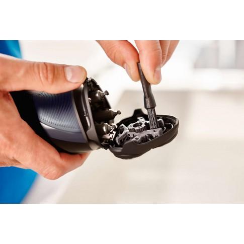 Aparat de ras Philips S1100/04, functionare cu cablu, 3 capete Flex, sistem lame CloseCut cu autoascutire