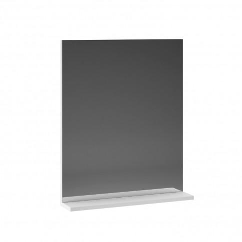 Oglinda baie cu polita, Martplast Star 600, alb, 60 x 17 x 72 cm