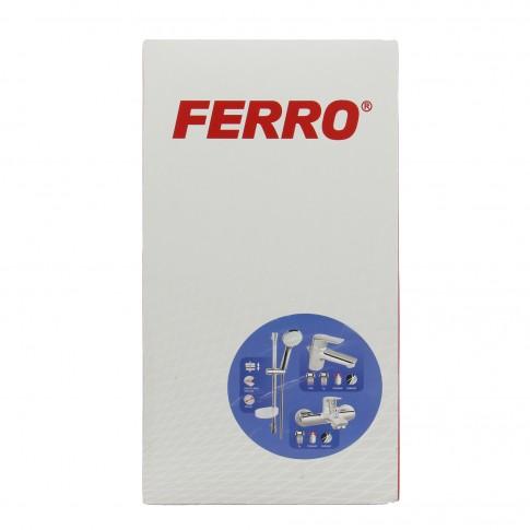 Pachet baterii baie + para dus + bara + furtun + ventil Ferro Toscana, 1 functie, 1.5 m