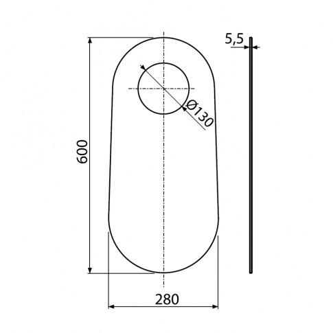 Garnitura fonica WC stativ, M920
