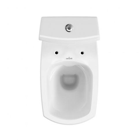 Set vas WC + rezervor + capac, Cersanit Carina NCO K31-044, din ceramica, 35 x 78 x 66 cm