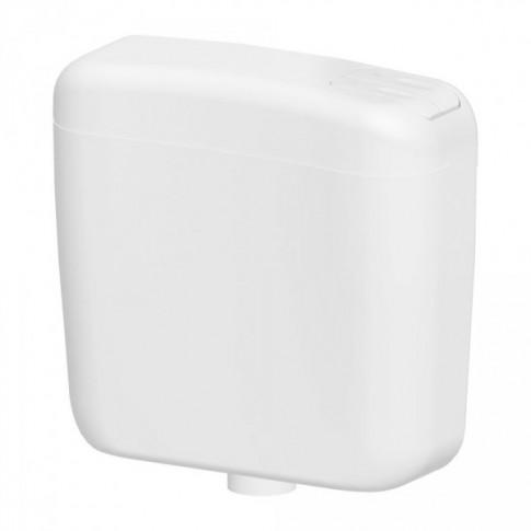 Rezervor WC pe perete Vision Duo 195005, actionare dubla, 6 / 9 L, 42.5 x 40 x 14.5 cm