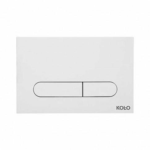 Placa actionare apa WC, Kolo Slim 94183001, alb