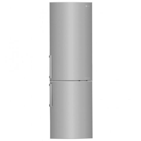 Combina frigorifica LG GBB59PZJVB, 318 l, Full No Frost, clasa A+, inaltime 190 cm, argintiu