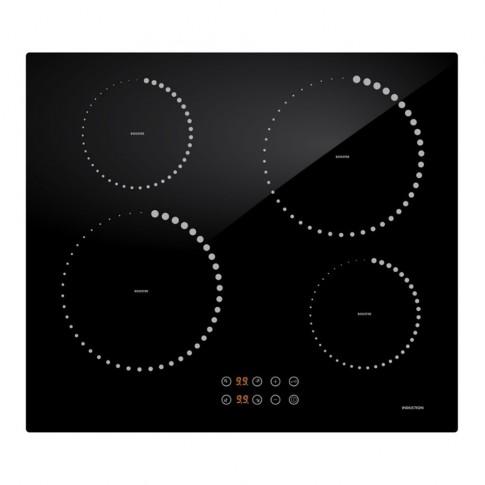 Plita electrica cu inductie, incorporabila, Studio Casa MI 1600, 4 zone de gatit, 7200 W, control touch cu senzori digitali, termostat de siguranta