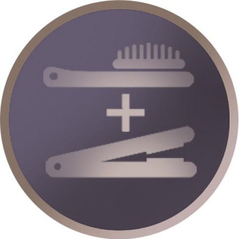 Perie de par Remington CB7400, invelis ceramic, oprire automata, temperatura reglabila 150 - 230 grade, 62 W, neagra