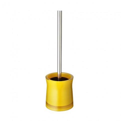 Perie WC Davo Pro Disco 2103404, acrilic, galben, 10.5 x 38.5 cm