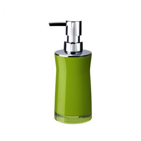 Dozator sapun lichid Davo Pro Disco 2103505, verde, acrilic
