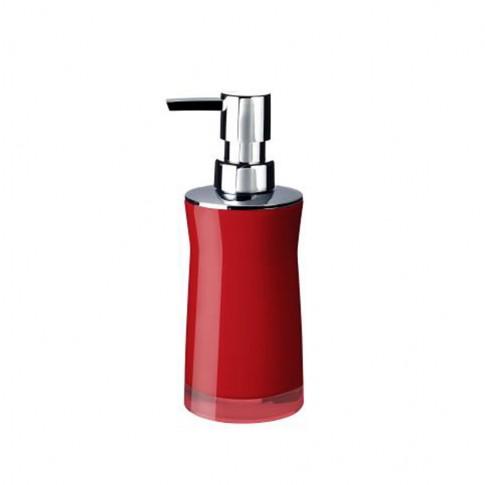 Dozator sapun lichid Davo Pro Disco 2103506, rosu, acrilic
